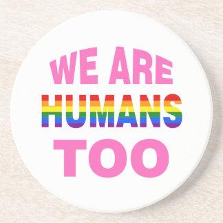 Dessous De Verre En Grès Nous sommes des humains aussi