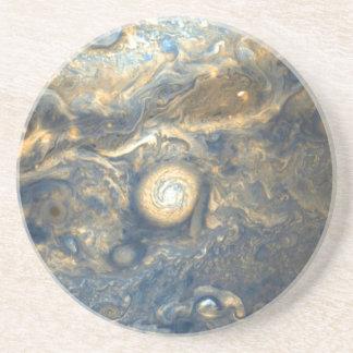Dessous De Verre En Grès Nuages de Jupiter