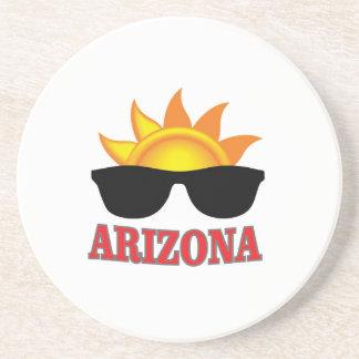 Dessous De Verre En Grès nuances de l'Arizona ouais