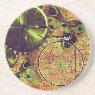 Dessous De Verre En Grès Papier peint vintage de Steampunk