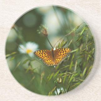 Dessous De Verre En Grès Papillon Pacifique de fritillaire