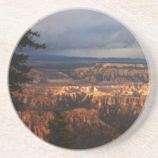 Dessous De Verre En Grès Parc national de canyon de Bryce