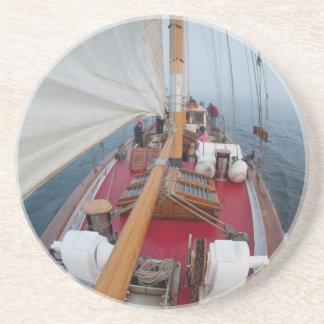 Dessous De Verre En Grès Passage de frontière de navigation