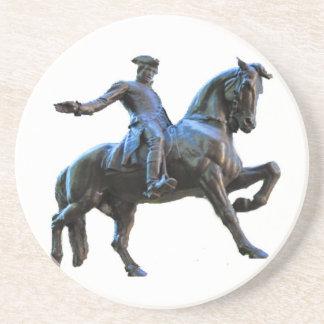 Dessous De Verre En Grès Paul Revere (le Massachusetts)