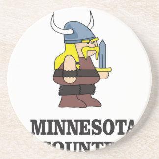Dessous De Verre En Grès Pays du Minnesota