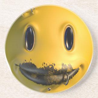 Dessous De Verre En Grès phénomène de sourire