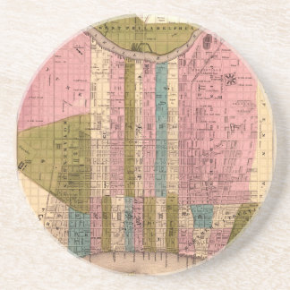 Dessous De Verre En Grès Philadelphie 1838
