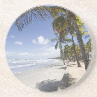 Dessous De Verre En Grès - Plage des Caraïbes du Trinidad - de Manzanilla