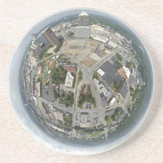 Dessous De Verre En Grès Planète minuscule de Greensboro
