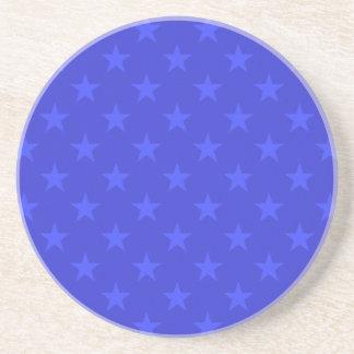 Dessous De Verre En Grès Profil sous convention astérisque bleu