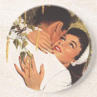 Dessous De Verre En Grès Proposition vintage de mariage, histoires d'amour