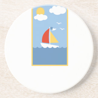 Dessous De Verre En Grès sailing