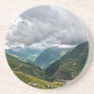 Dessous De Verre En Grès Sec de vallée de Grossglockner
