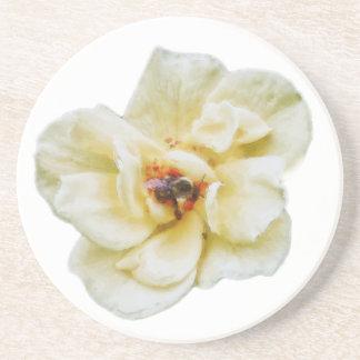Dessous De Verre En Grès S'est levée et l'abeille