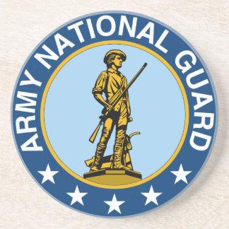 Dessous De Verre En Grès Slogan de garde nationale d'armée toujours prêt