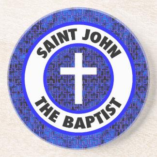 Dessous De Verre En Grès St John le baptiste