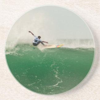 Dessous De Verre En Grès Surf à Biarritz