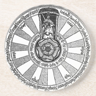 Dessous De Verre En Grès Table ronde du Roi Arthur