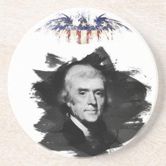 Dessous De Verre En Grès Thomas Jefferson