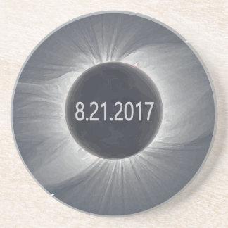 Dessous De Verre En Grès Total-Solar-Eclipse7