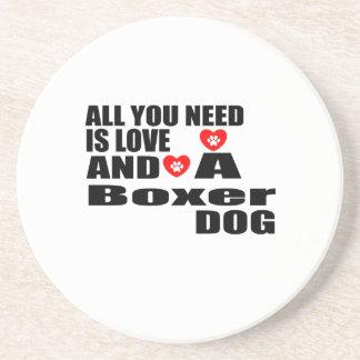 Dessous De Verre En Grès Tous vous avez besoin des conceptions de chiens de