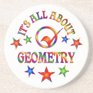 Dessous De Verre En Grès Tout au sujet de la géométrie