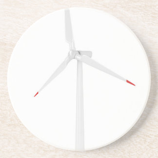Dessous De Verre En Grès Turbine de vent moderne