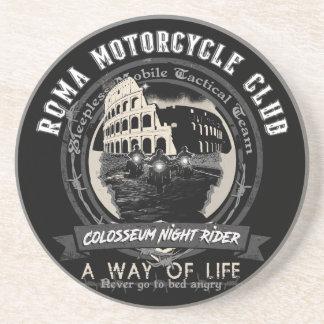 Dessous De Verre En Grès Un club étrange de moto