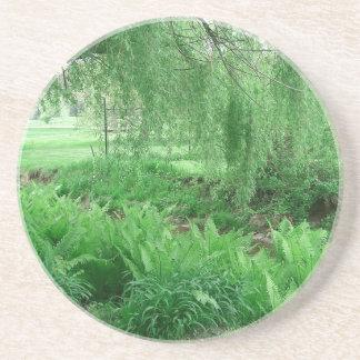 Dessous De Verre En Grès Verts luxuriants