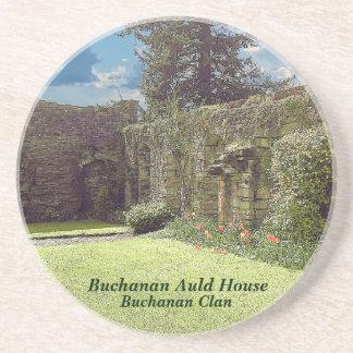Dessous De Verre En Grès Vieille Chambre de Buchanan - clan de Buchanan