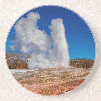 Dessous De Verre En Grès Vieux fidèle de Yellowstone