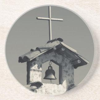 Dessous De Verre En Grès Ville de touristes, chapelle de village