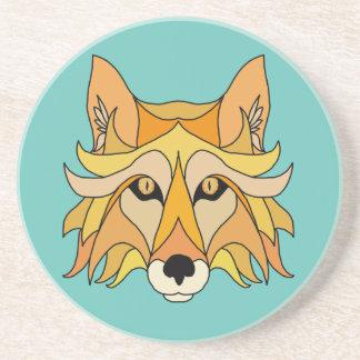 Dessous De Verre En Grès Visage de Fox