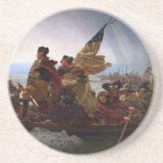 Dessous De Verre En Grès Washington art de cru croisant Delaware - USA