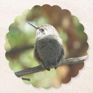 Dessous-de-verre En Papier Débutant de colibri