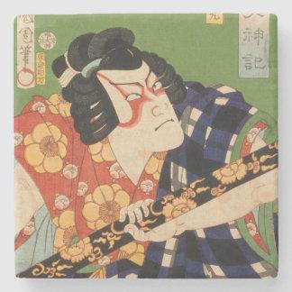 Dessous-de-verre En Pierre Acteur japonais (#1) (copie vintage de Japonais)