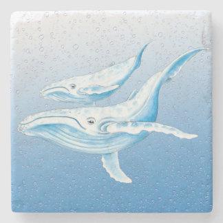 Dessous-de-verre En Pierre Bosses bleus Waterdrops