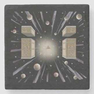 Dessous-de-verre En Pierre Caboteur cosmique, spirituel, métaphysique