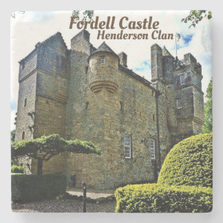 Dessous-de-verre En Pierre Château de Fordell - clan de Henderson