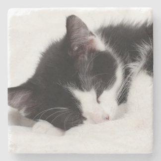 Dessous-de-verre En Pierre Chaton de sommeil