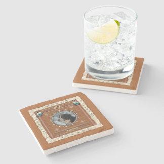 Dessous-de-verre En Pierre Chien - dessous de verre de marbre de fidélité