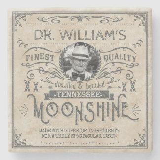 Dessous-de-verre En Pierre Coutume vintage drôle de médecine de montagnard