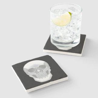 Dessous-de-verre En Pierre Crâne en cristal