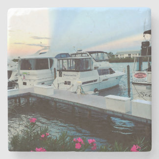 Dessous-de-verre En Pierre Dessous de verre de club de yacht