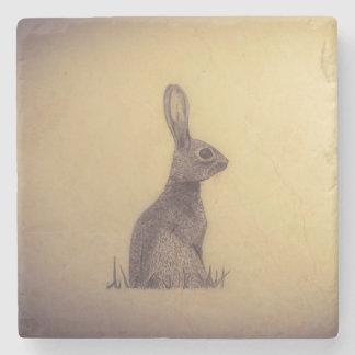 Dessous-de-verre En Pierre Dessous de verre de lapin