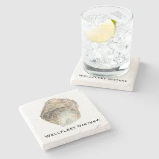 Dessous-de-verre En Pierre Dessous de verre de marbre d'huître - conception B