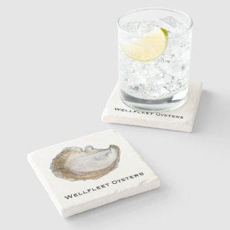 Dessous-de-verre En Pierre Dessous de verre de marbre d'huître - conception C