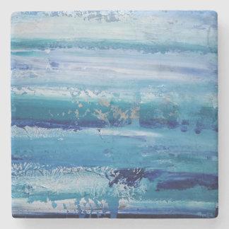 Dessous-de-verre En Pierre Dessous de verre de pierre bleue