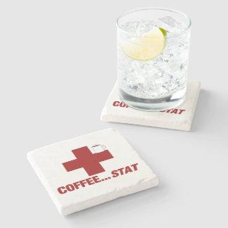 Dessous-de-verre En Pierre Dessous de verre de stat de café