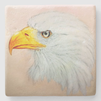Dessous-de-verre En Pierre Dessous de verre en pierre blancs d'Eagle, croquis